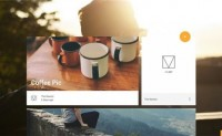 当谷歌Material Design遇上网页设计:果然很美