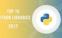 2017年10大Python库总结